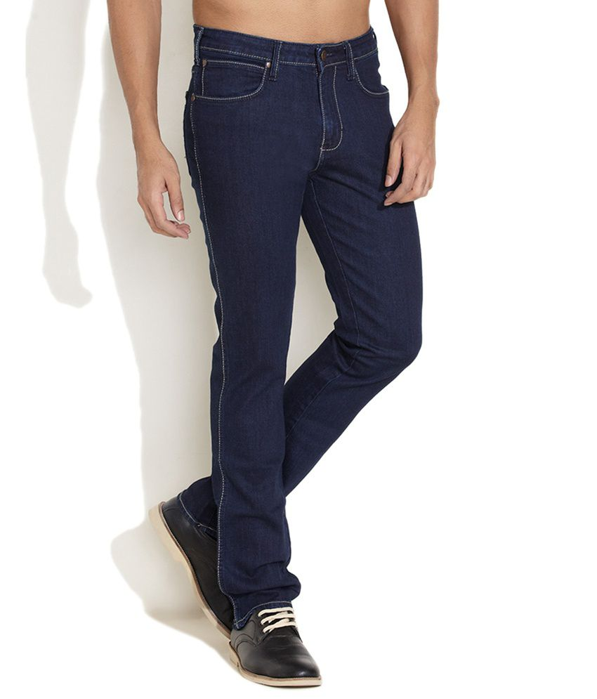 Wrangler Purple Regular  Jeans