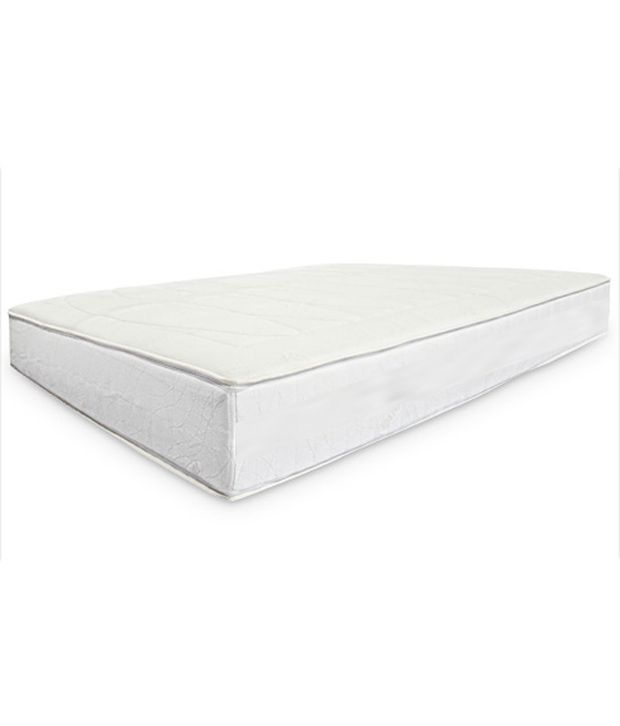 natures touch king size natural latex cotton mattress 78x72x5 rh snapdeal com