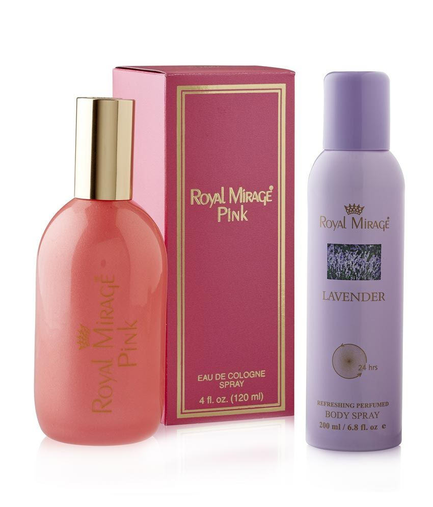 Royal Mirage Pink & Lavender 4 Fl Oz.combo
