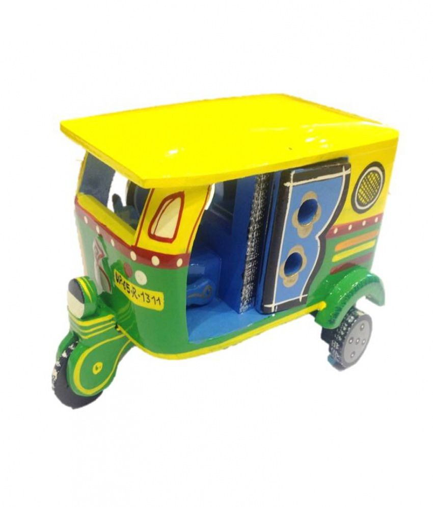 Toys For Low Prices : Desi toys auto rickshaw toy for kids buy
