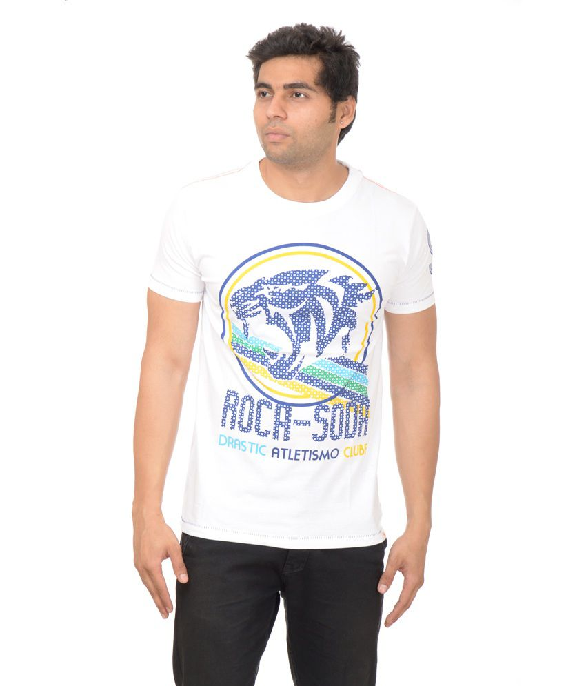 Drastic Men's Cotton Designer Half Sleeve T-shirt