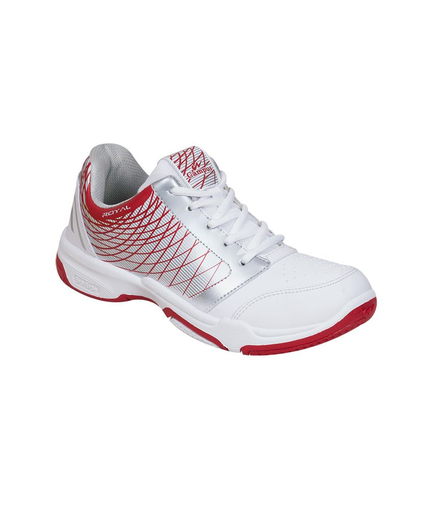 Campus White Sport Shoes