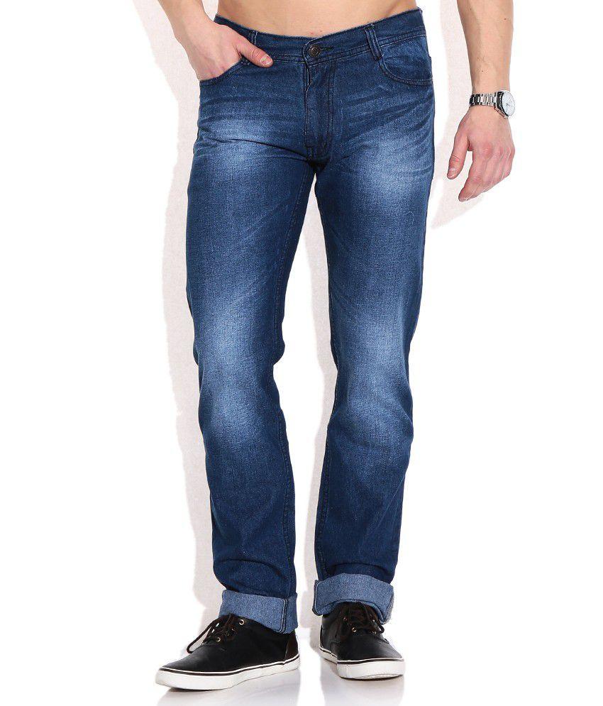 Newport Blue Straight Jeans