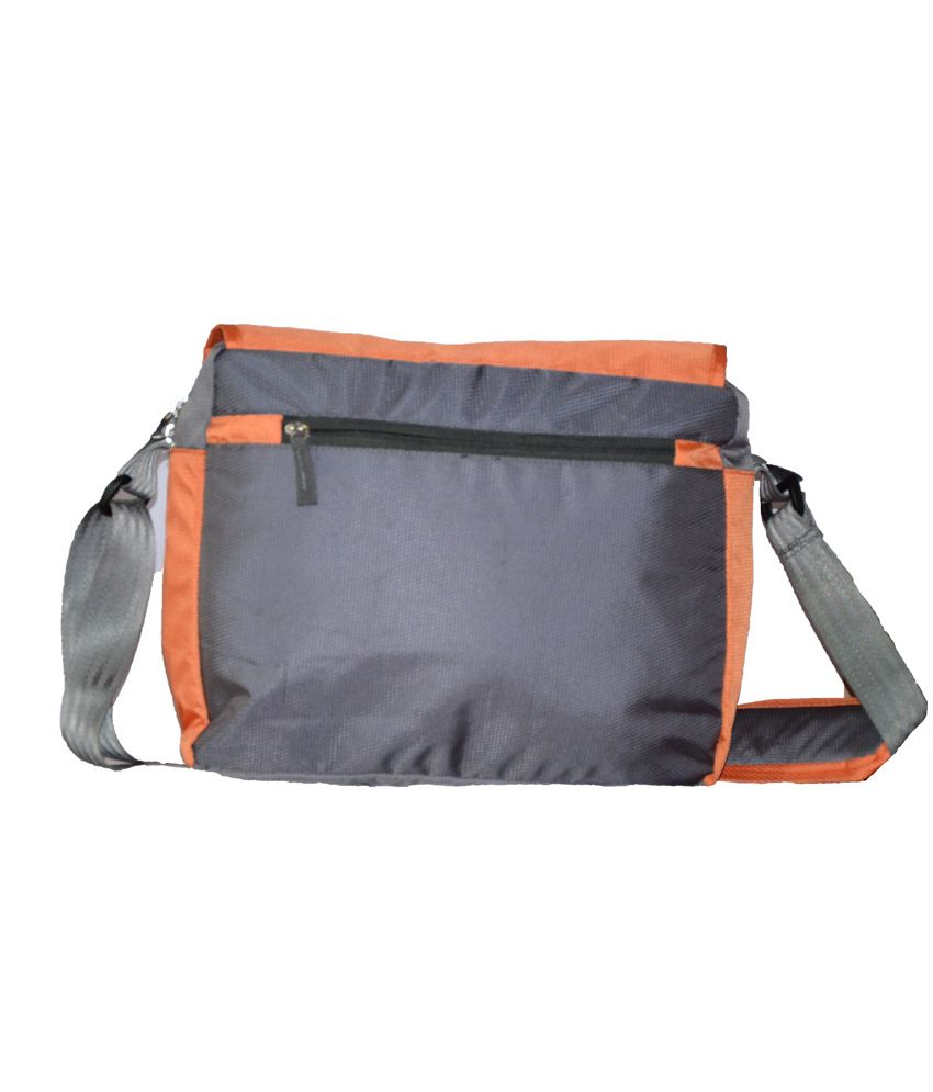 Yark Orange Polyester Sling Bag - Buy Yark Orange Polyester Sling ...