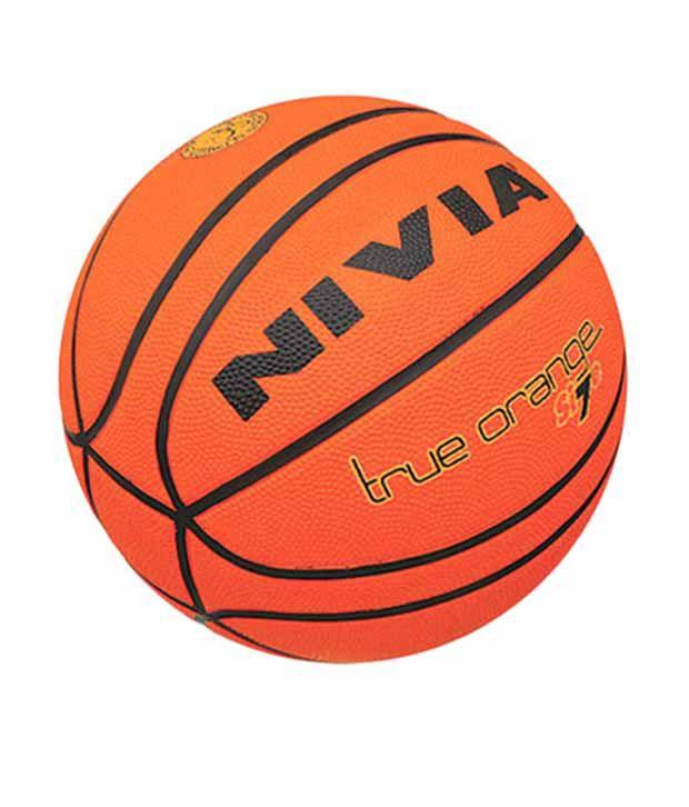 Nivia True Orange Bb-196 Basketball / Ball