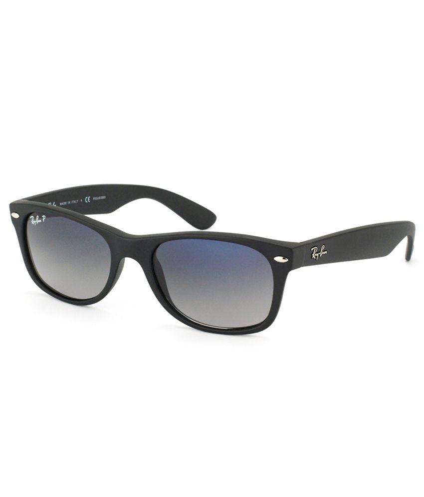 ray ban blue polarized wayfarer sunglasses rb2132 601s78. Black Bedroom Furniture Sets. Home Design Ideas