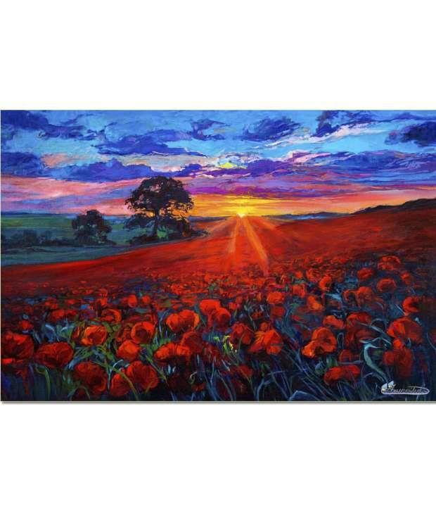 Anwesha's Gallery Wrapped Canvas Wall Painting 30x20 Inch