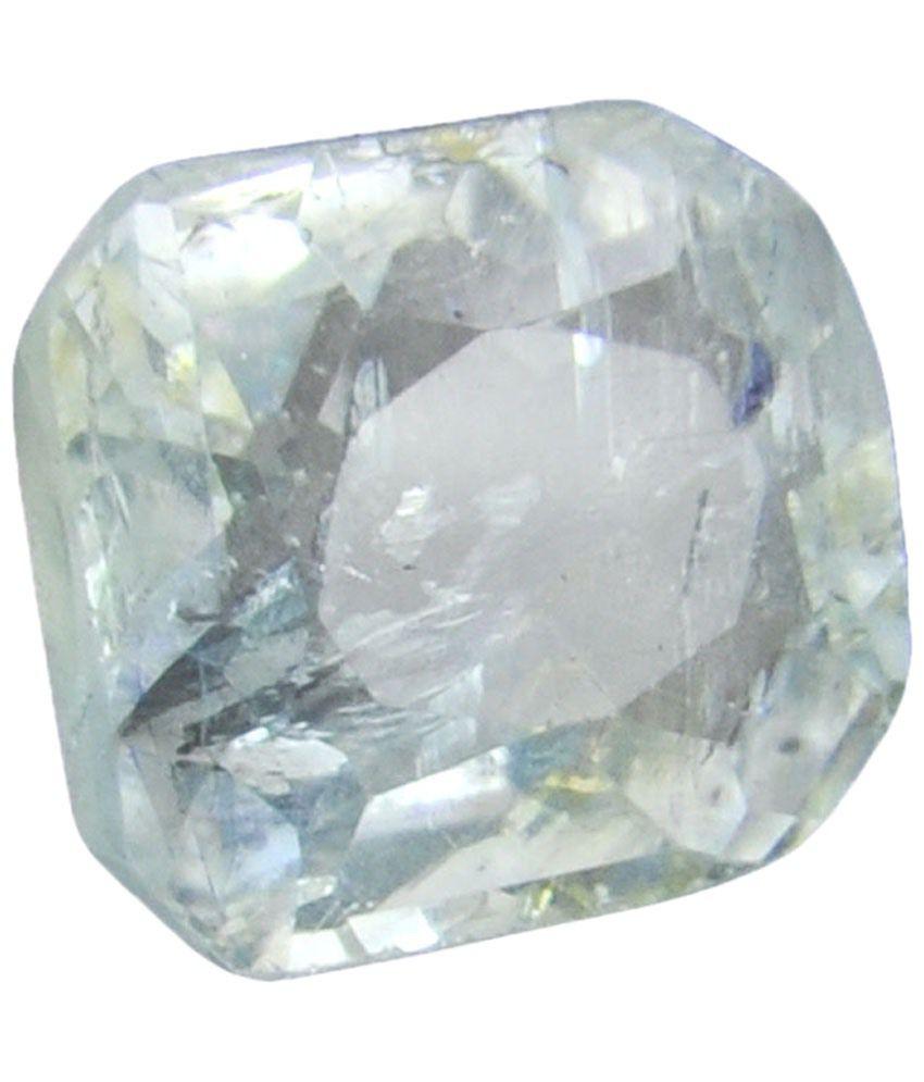 Barishh Igli Certified 3.88ct White Topaz Gemstone