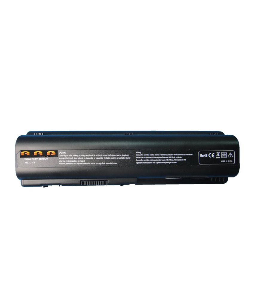 Arb Laptop Battery For Hp Pavilion Dv6-1155ei With 12 Cells