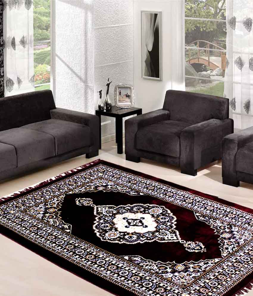 Grab Kashmir Design Beautiful Carpet 59 X 84