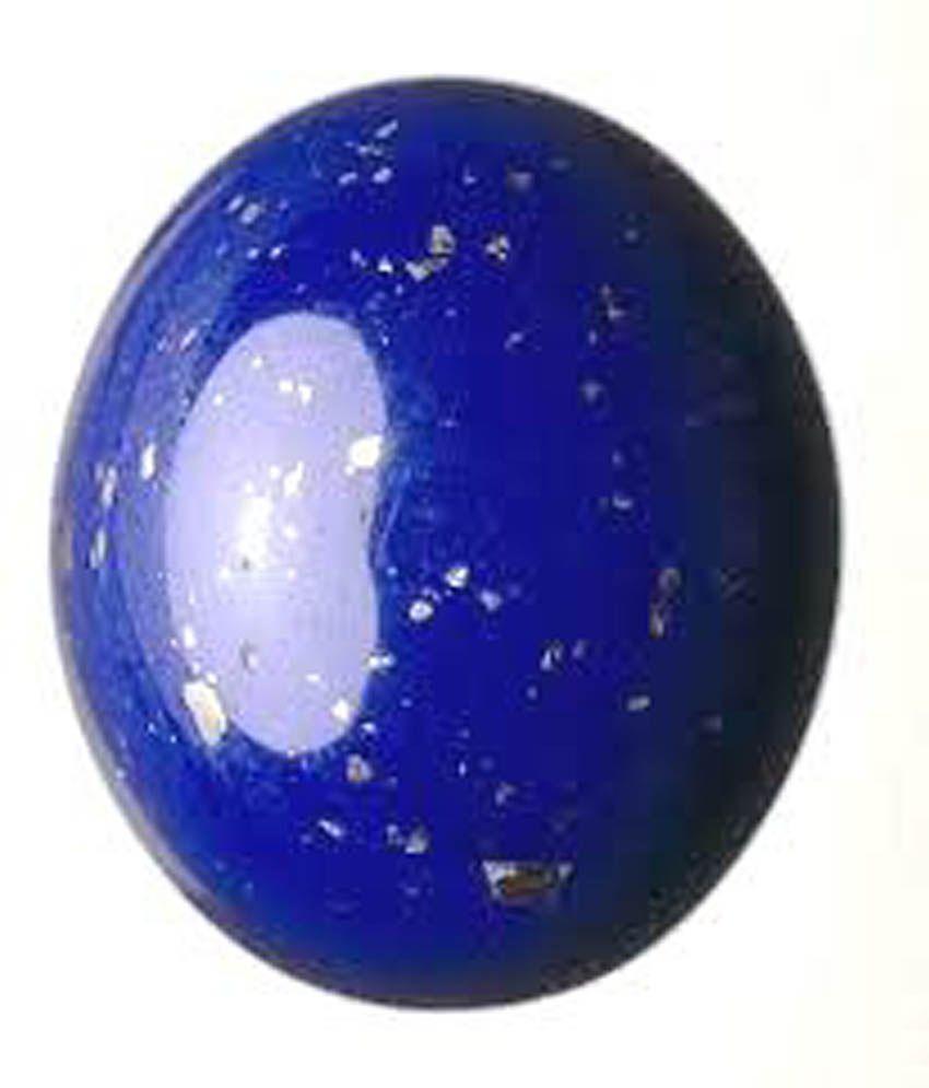 Tejvij And Sons 5.00 Ratti Lapis Lazuli Gli Certified Astrological Gemstone