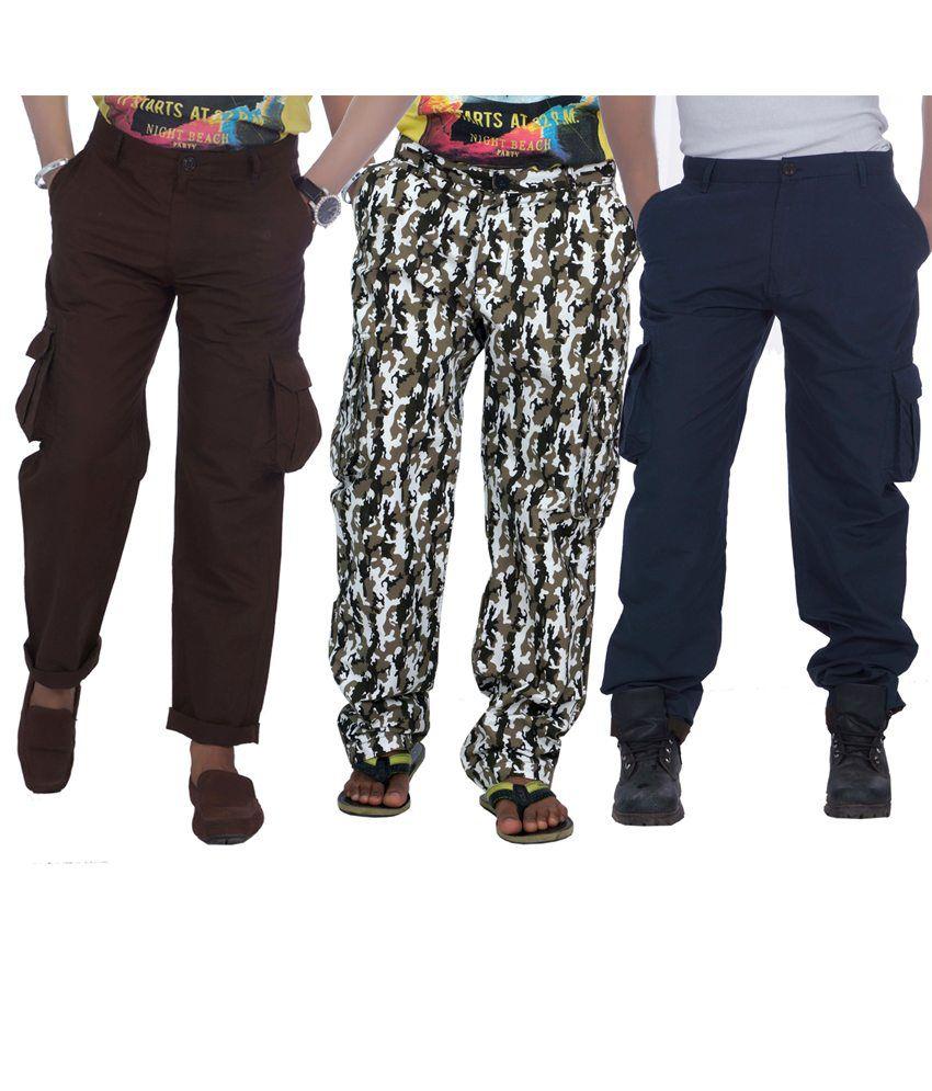 True Fashion Men's Cargo Pant