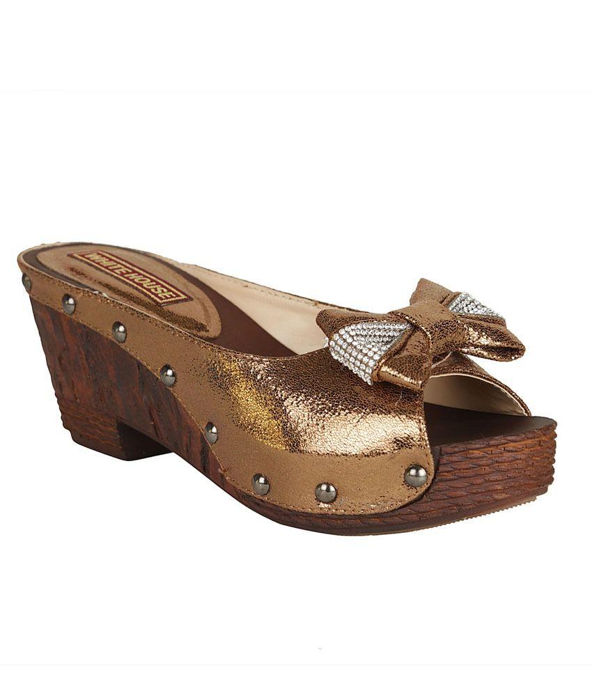 White House Ethnic Sandals