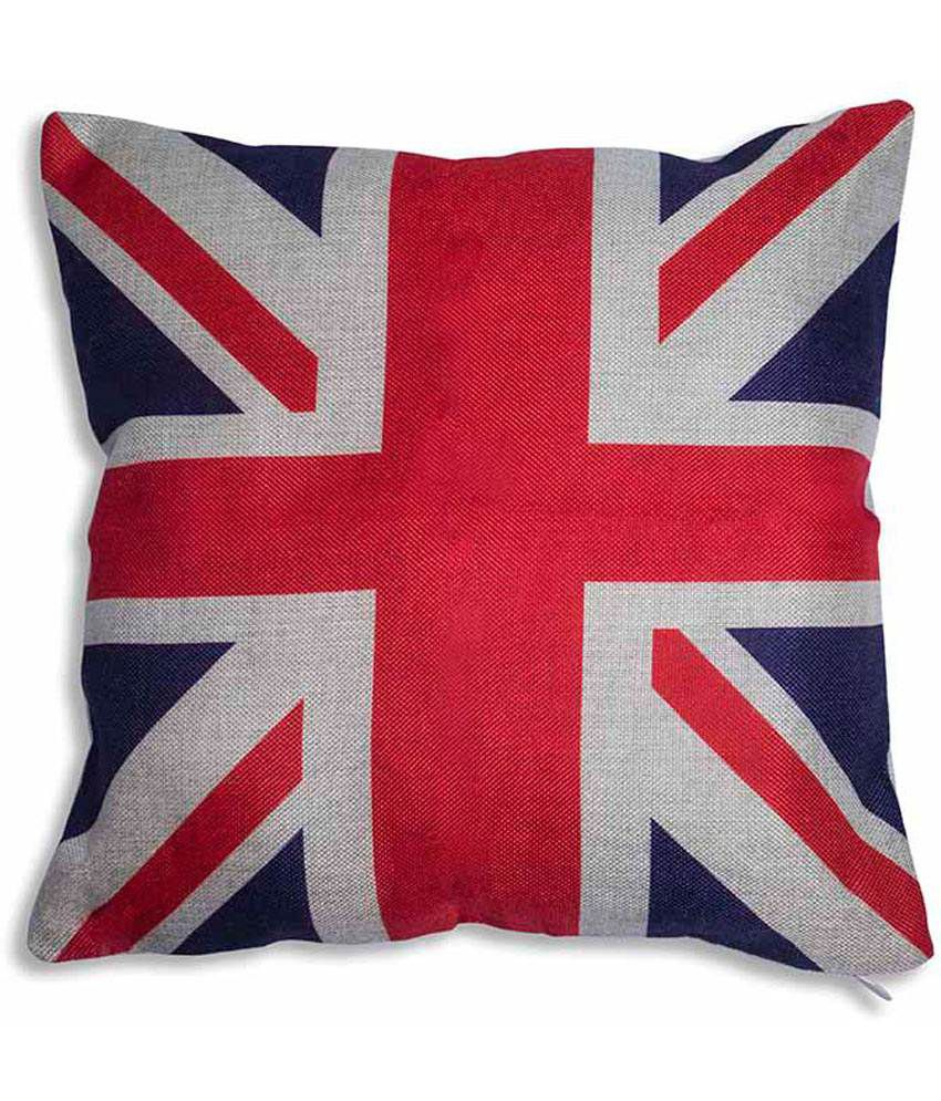 Art Street Red Traditional Blends Love For British Cushion Cover