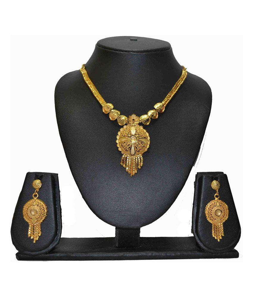 Chetan Classics Golden Platted Necklace
