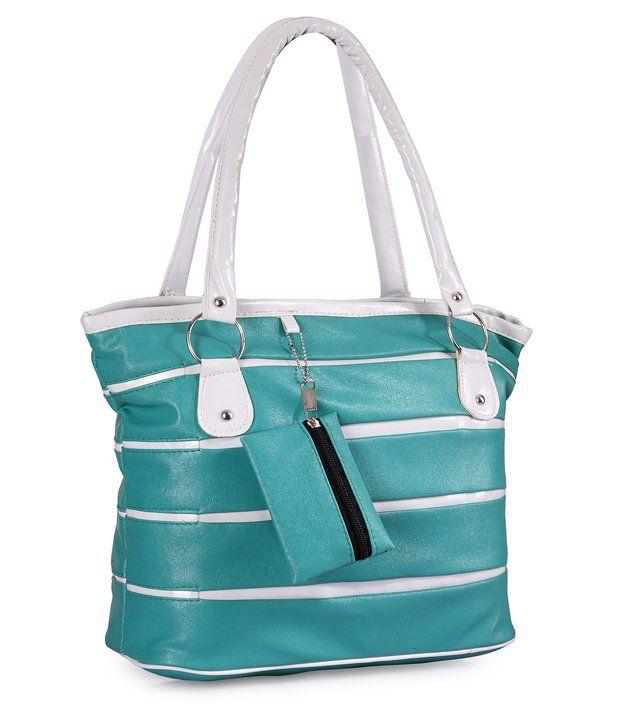 Frosty Fashion Blue Attractive Shoulder Bag