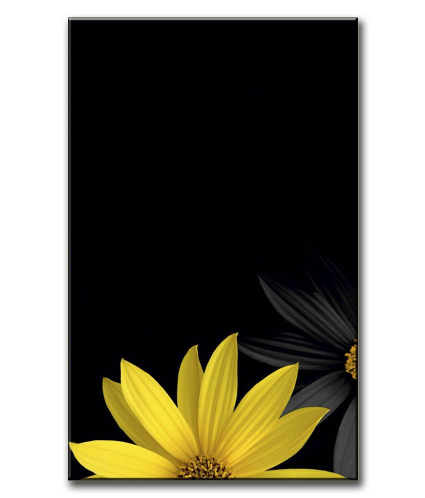 Anwesha's Gallery Wrapped Canvas Digital Print Wall Painting 12.5 X 20 Inch - Flower