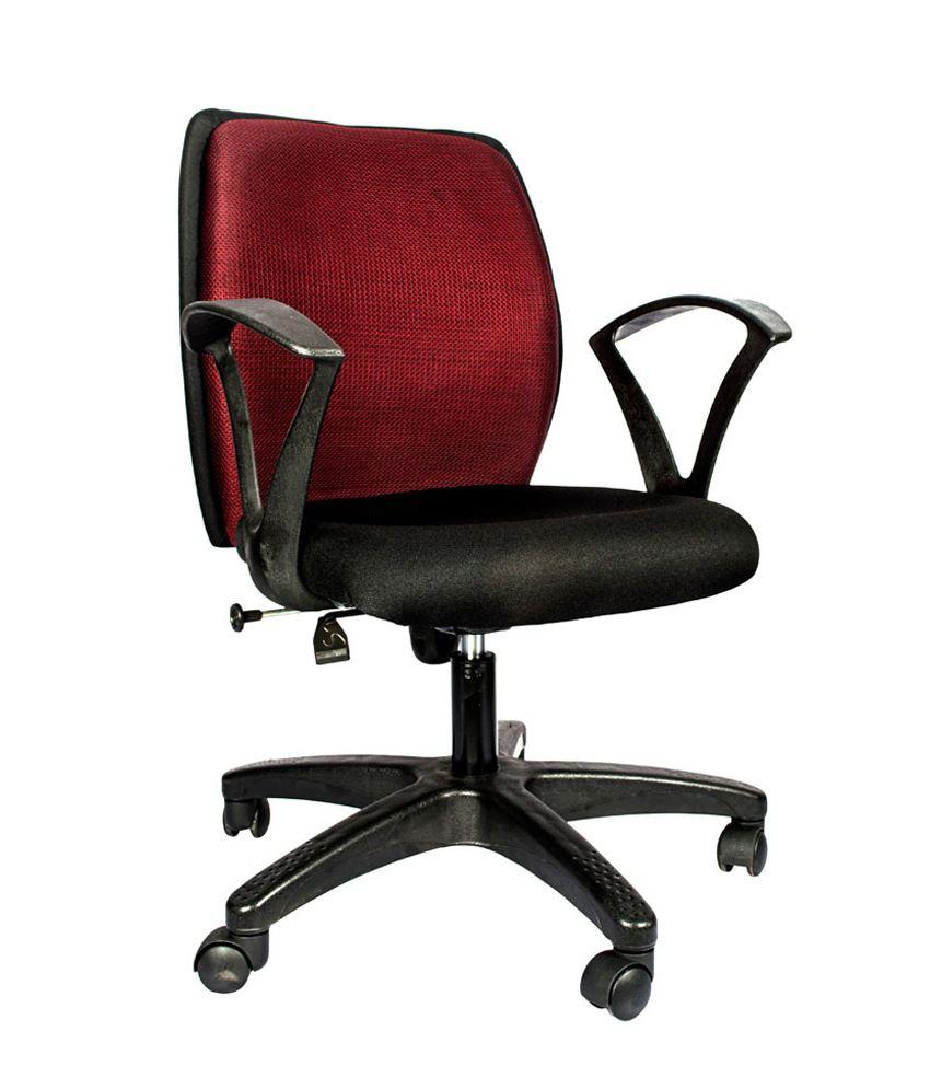 Hetal Enterprises Black Compressed Wood Office Chair Buy