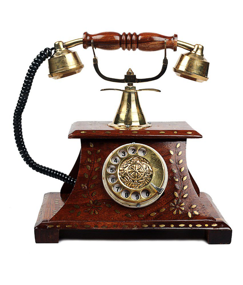 9b6e1499b Woodstock Antique Operational Telephone Maharaja Style  Buy Woodstock  Antique Operational Telephone Maharaja Style at Best Price in India on  Snapdeal