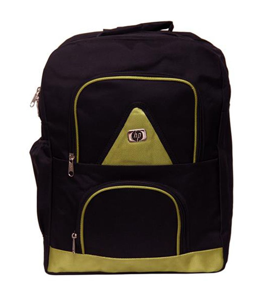 Borse Green & Black Backpack Green And Black Backpack
