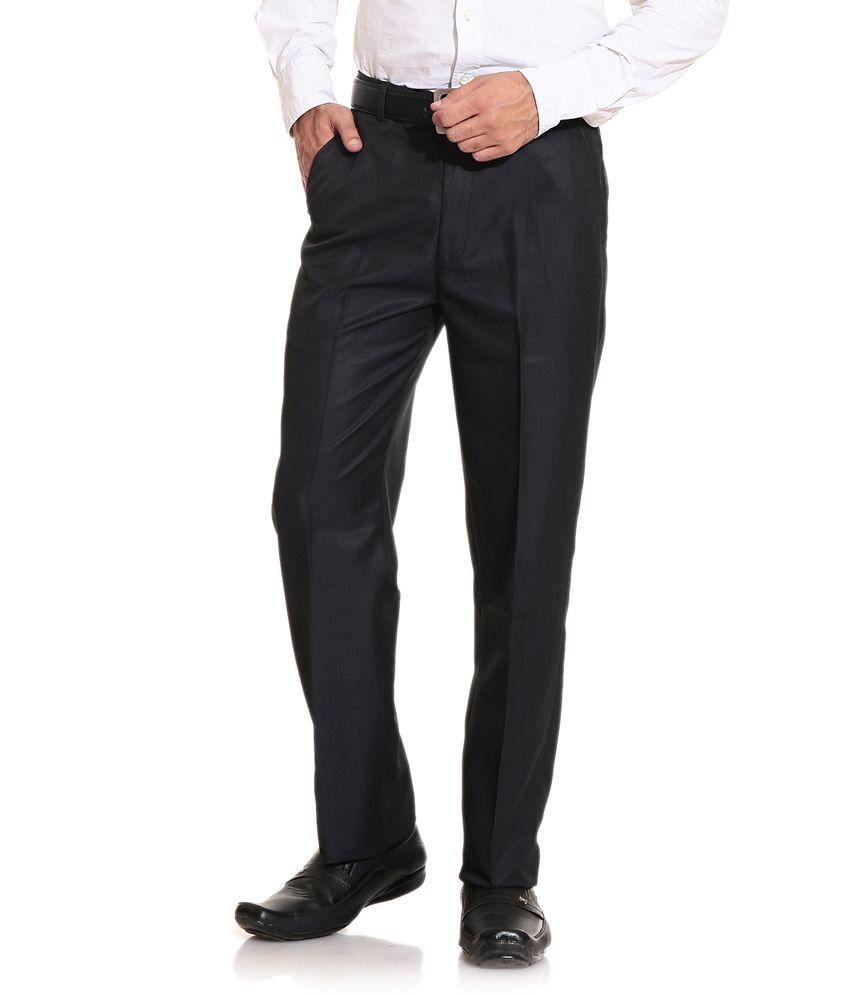 E Atavios Formal Trouser - Black
