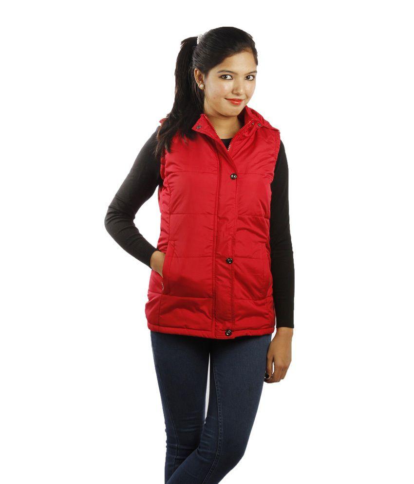 Red Nylon Jackets 83