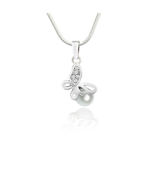Mahi Silver Pendant