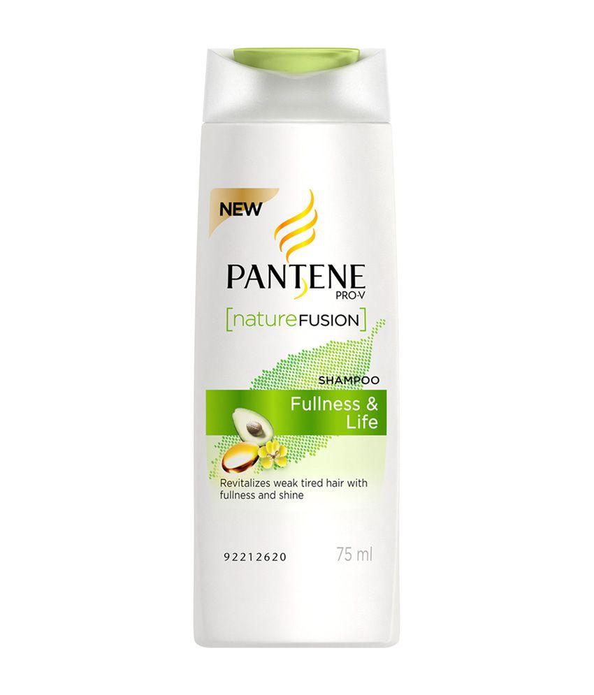 Pantene Nature Fusion Fullness & Life Shampoo 75 Ml