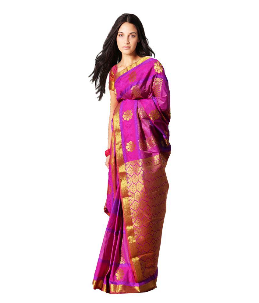 Kumaran silk sarees online shopping