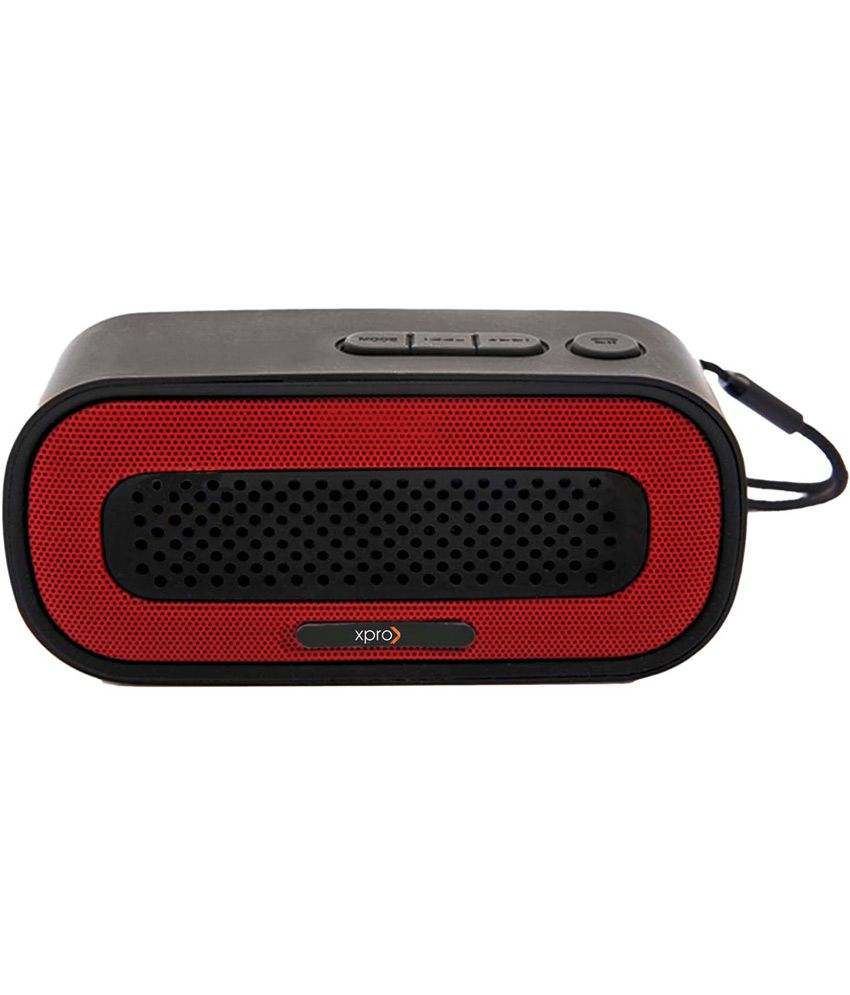 Xpro-Bluetooth-Speakers-2-Computer-Speakers-Red