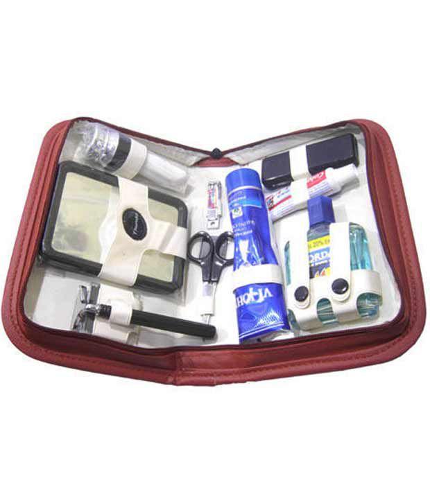 Dhan Distributors Shaving Kit Travel Bag Pack Mens Kit Elegance Formal