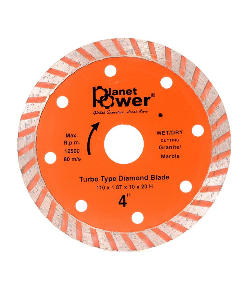 Planet Power 110mm Turbo Diamond Blade (20 Pc)