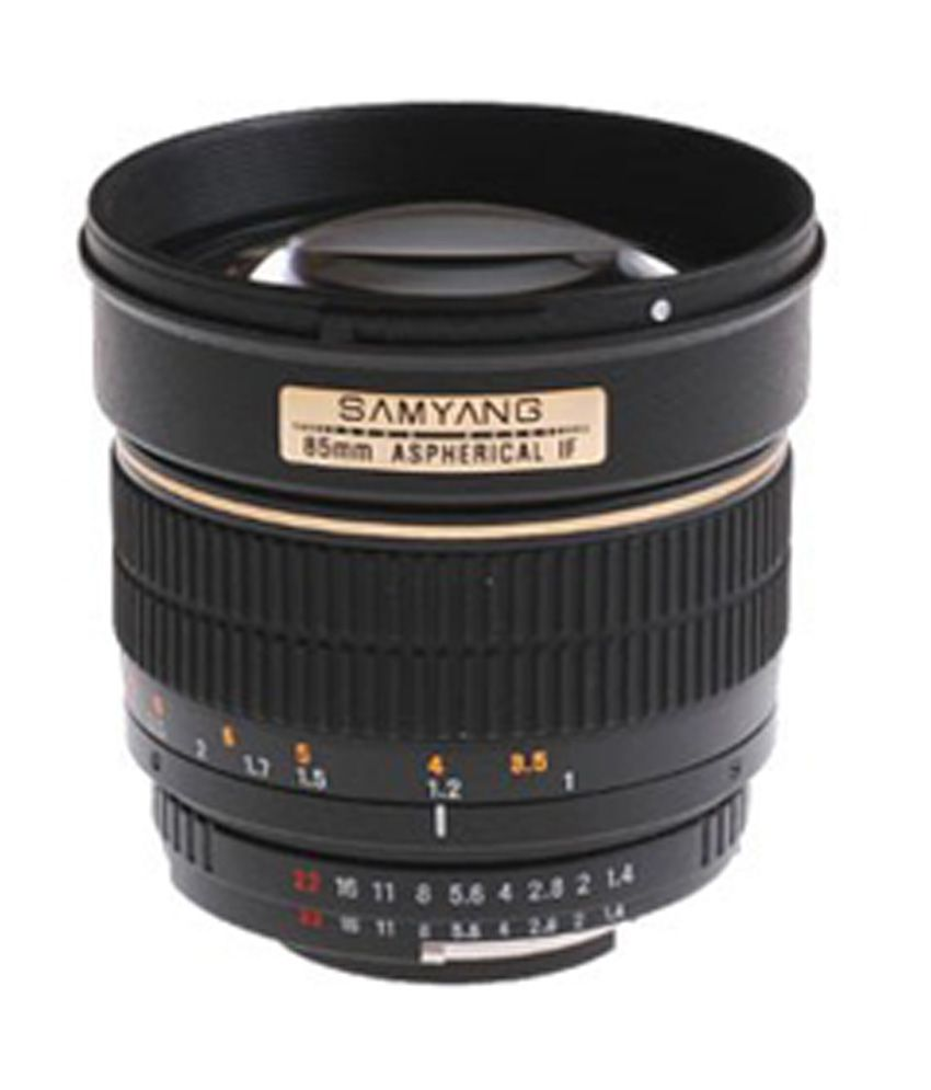 Samyang Sy85m-c 85 Mm F1.4 Lens For Canon