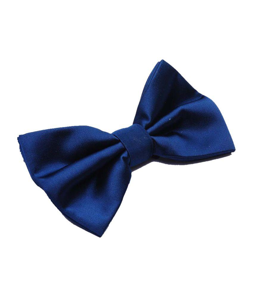 Leonardi Navy Blue Bow Tie