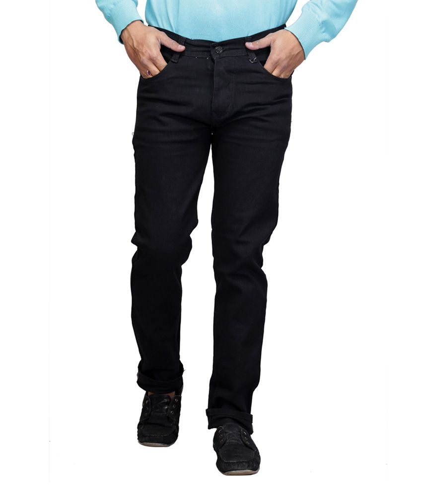 X-CROSS Black Relaxed Faded