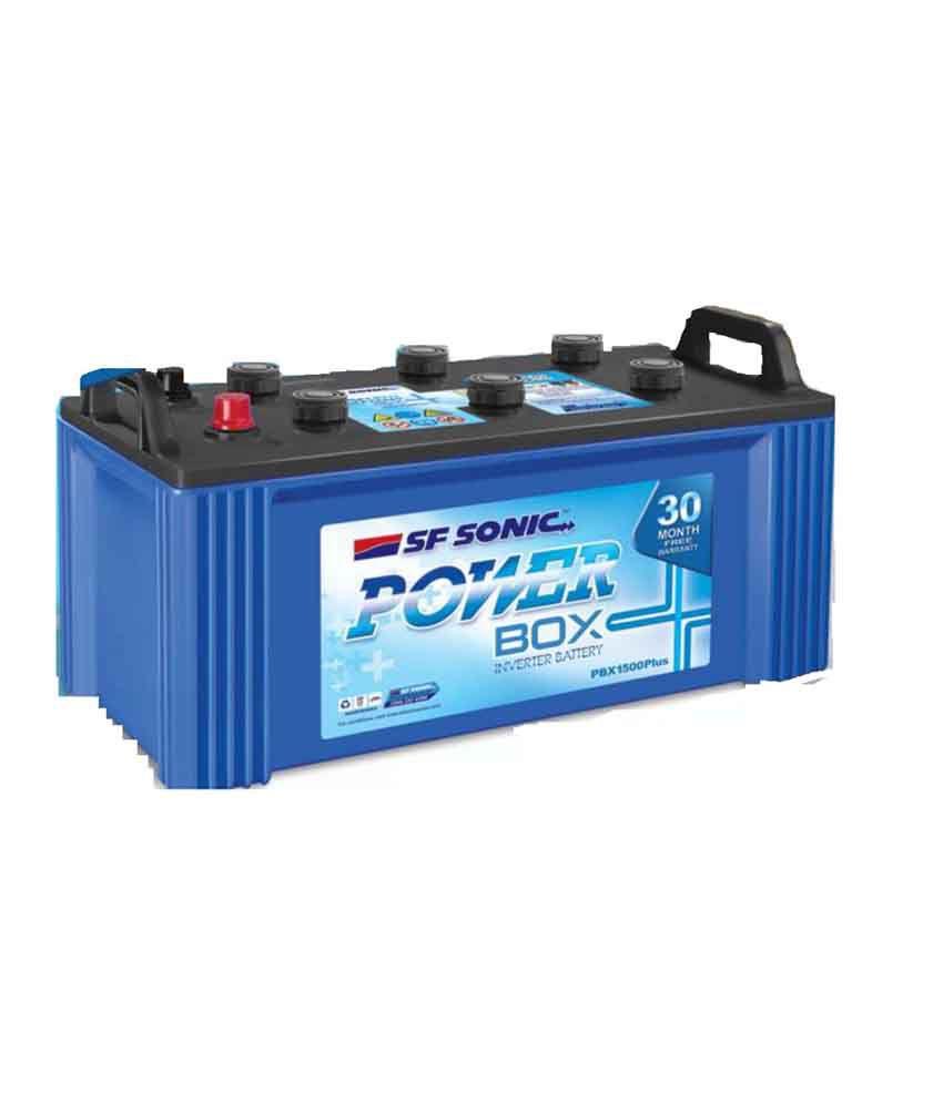 Exide Battery Review >> Exide Sf-sonic Inverter Battery Power Box - 135ah Price in India - Buy Exide Sf-sonic Inverter ...