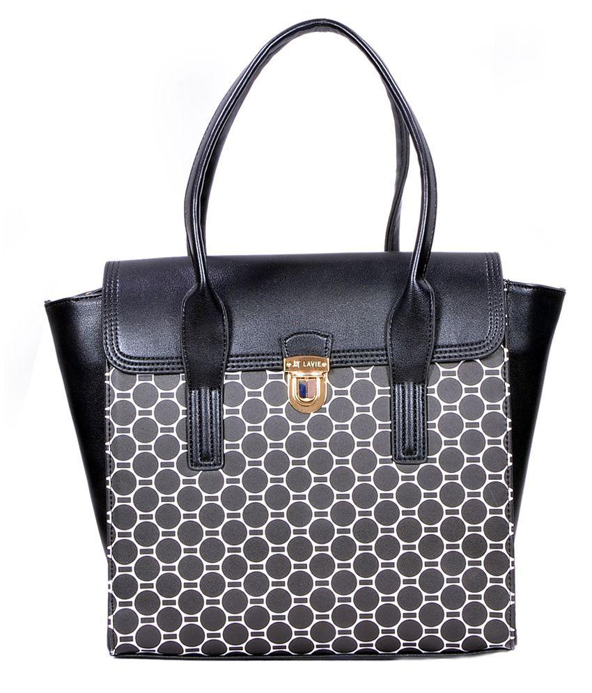 Lavie L07111185019 Black Tote Bags