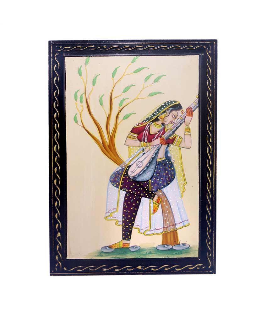 R S Jewels Handmade New Style Meera Rajasthani Painting
