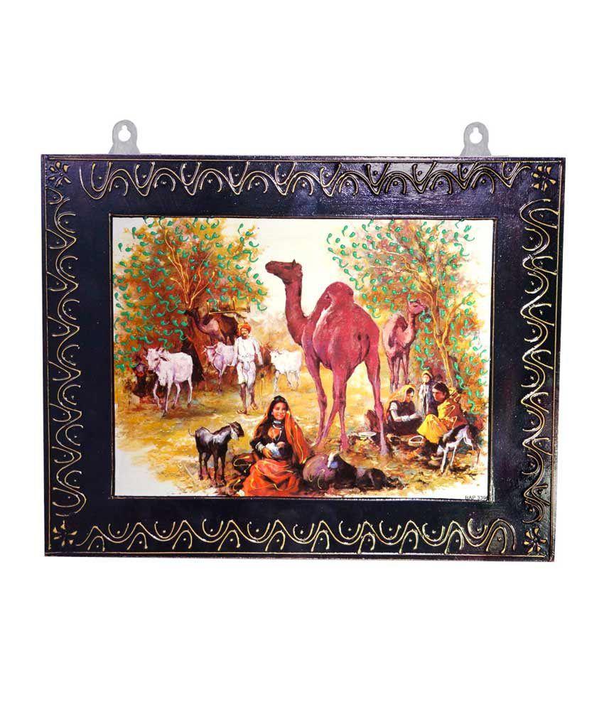 R S Jewels Rajasthani Handmade Designer Wooden Painting