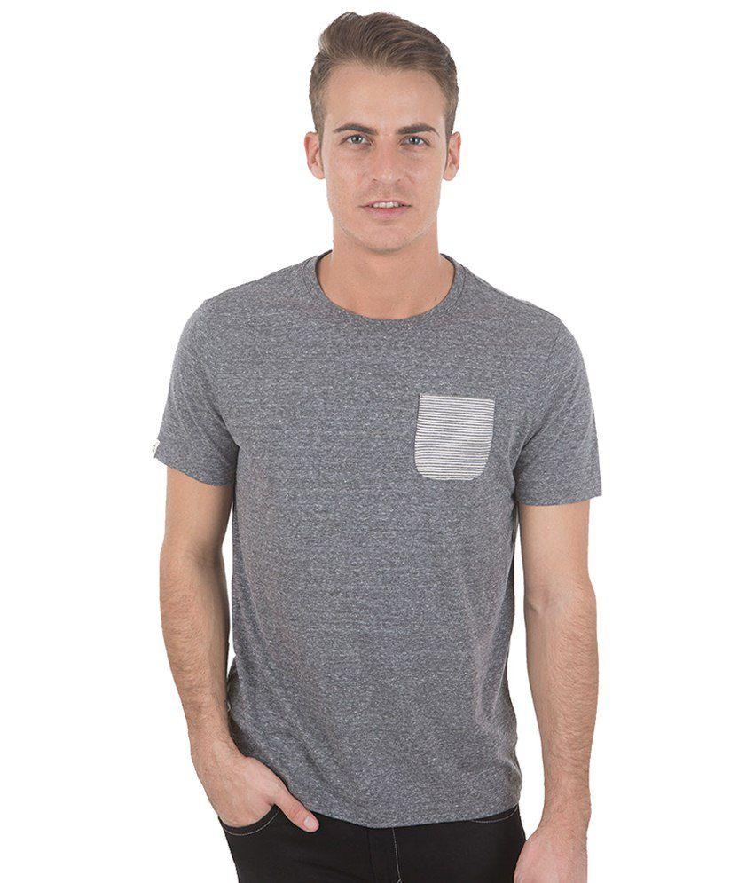 Freecultr Romy Gray Basic T Shirt