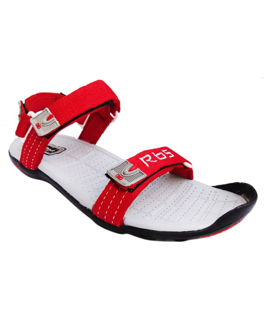 9a0d7fec1 JNG RBS Red Floater Sandals - Buy JNG RBS Red Floater Sandals Online at  Best Prices in India on Snapdeal