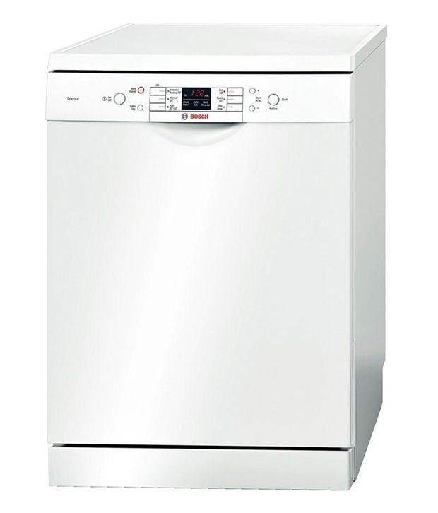 Bosch-Stainless-Steel-Dishwasher-White