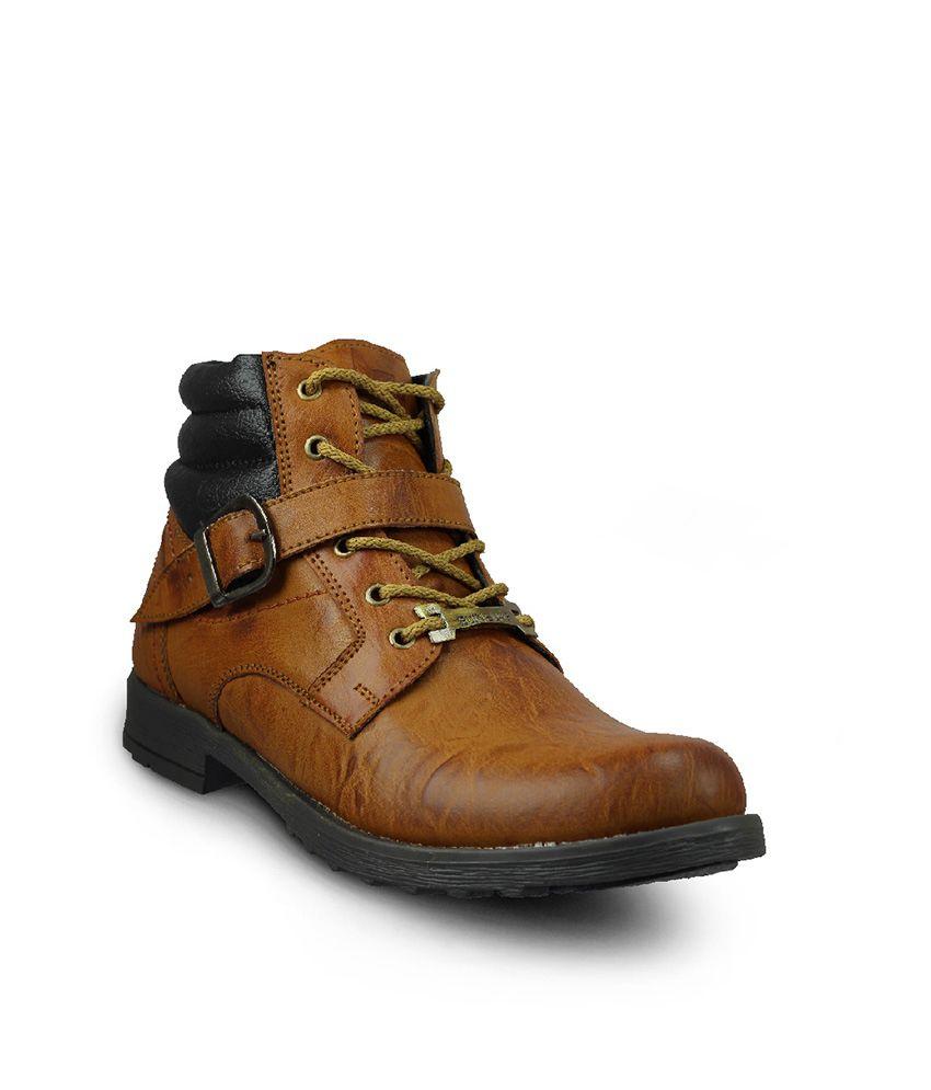 Foot Gear 24 Tan Men's Boots