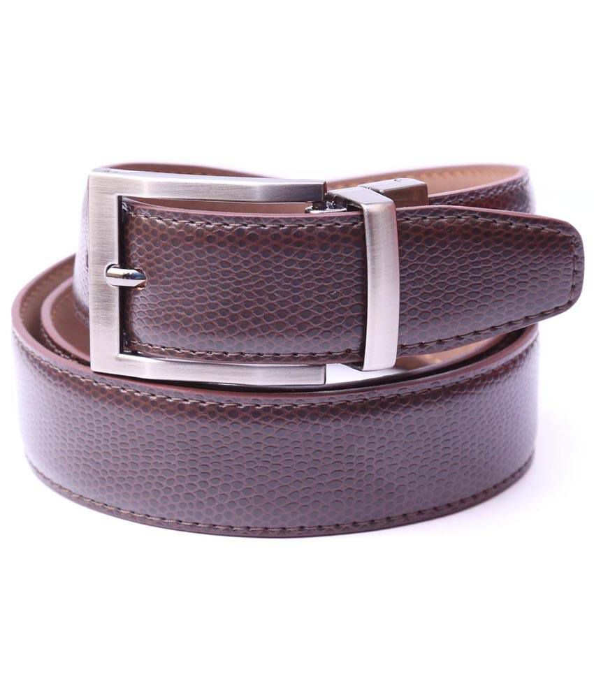 Moac Pin Buckle Brown Belt