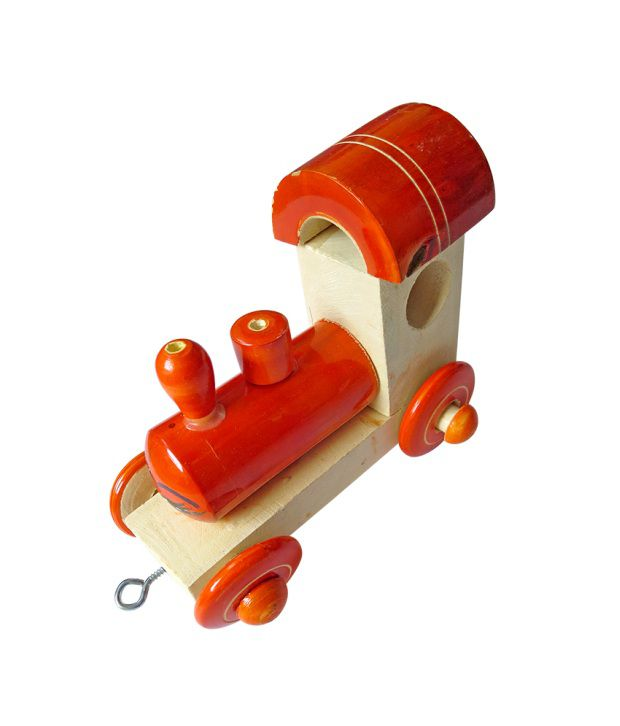 Dcs Engine Wooden Push Toy
