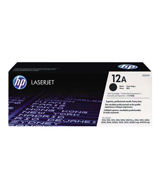 Hp Laserjet 1000 3000 Series Black Cartridge 12a Buy Hp Laserjet
