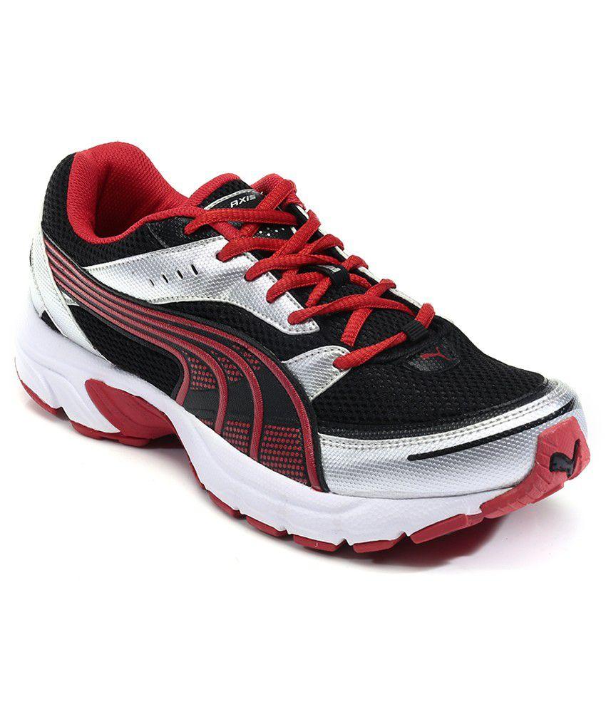 Puma Axis Iii Black Sports Shoes