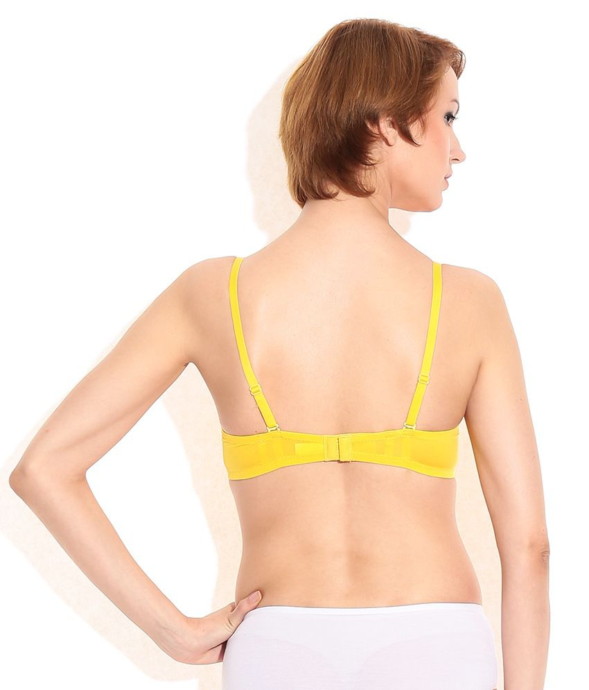 741daff7601 Buy Bwitch Padded Yellow Bra Online at Best Prices in India - Snapdeal