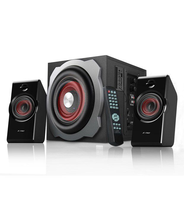 F&D Multimedia Speakers 2.1 Black