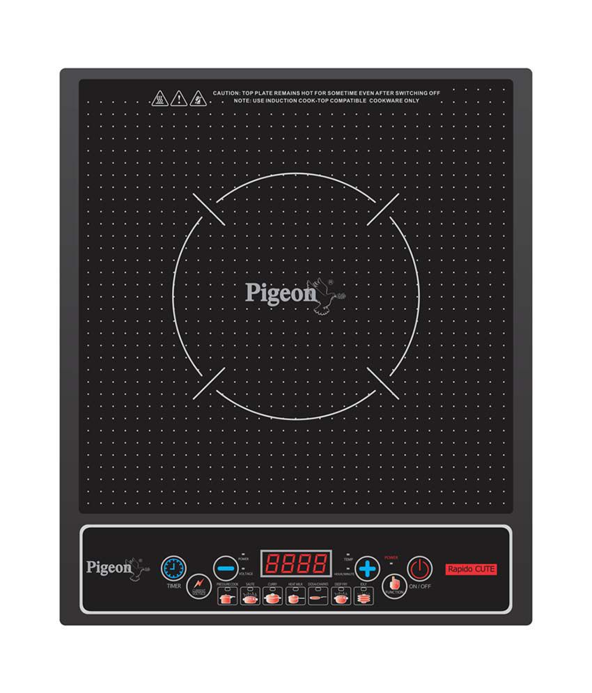 Pigeon Rapido Cute Induction Cooktop Price in India - Buy ...
